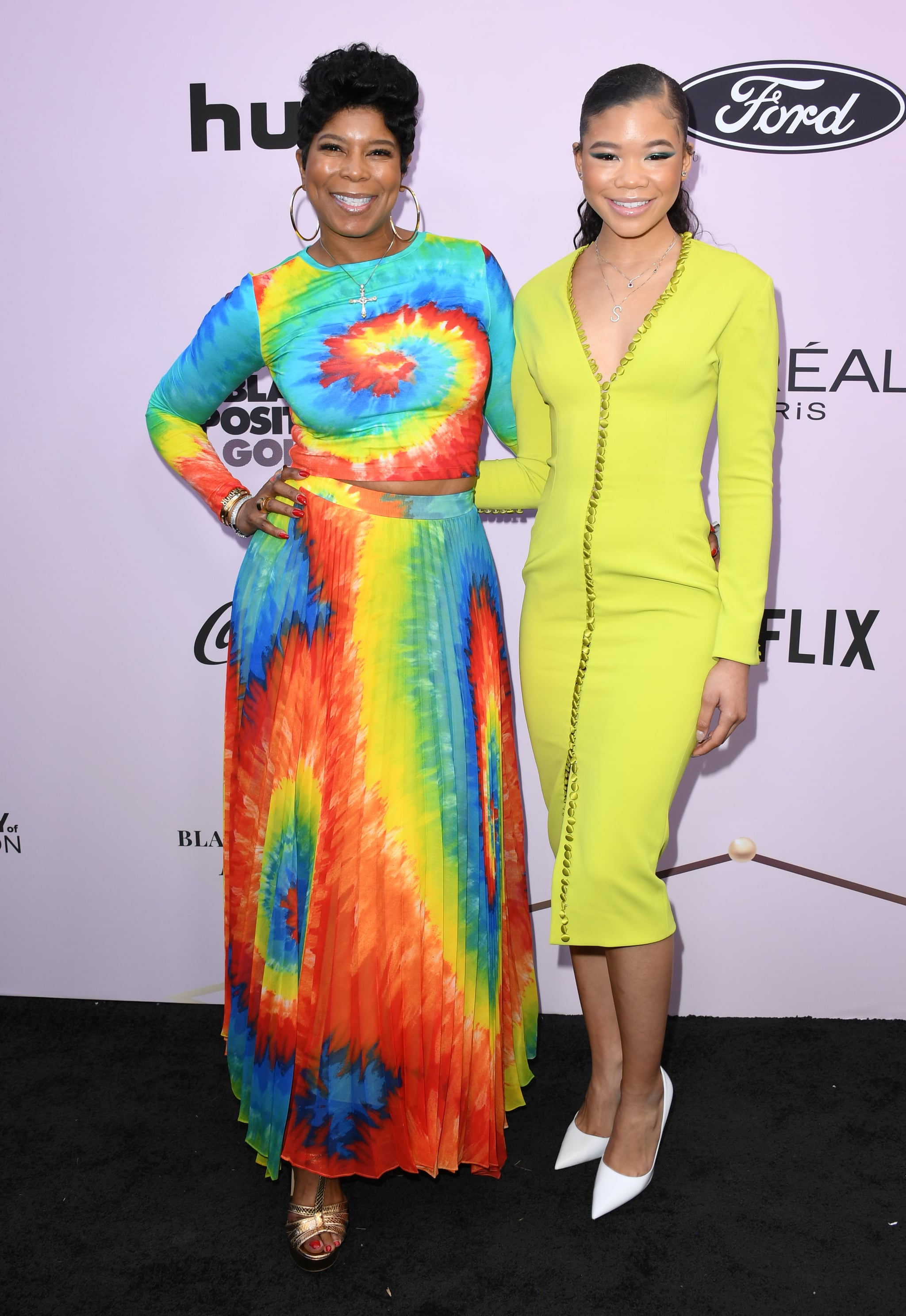 BEVERLY HILLS, CALIFORNIA - FEBRUARY 06:  Robyn Simpson and Storm Reid attend the 13th Annual Essence Black Women In Hollywood Awards Luncheon at the Beverly Wilshire Four Seasons Hotel on February 06, 2020 in Beverly Hills, California. (Photo by Jon Kopaloff/FilmMagic)