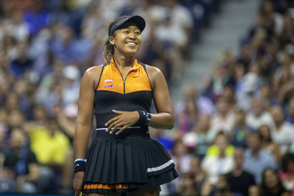 June 2019: Cordae Cheers On Naomi at the 2019 US Open