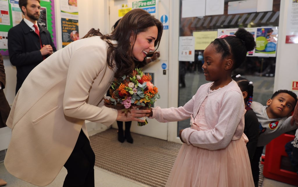 Kate Middleton at the Hornsey Road Children's Centre