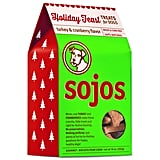 Sojos Holiday Feast Turkey and Cranberry Treats For Dogs ($9)
