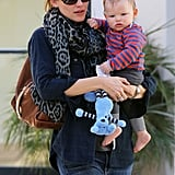 In February, Jennifer Garner gave birth to her first son and third child with Ben Affleck, Samuel Affleck.