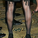 Sarah Jessica Parker's bow-detail tights.