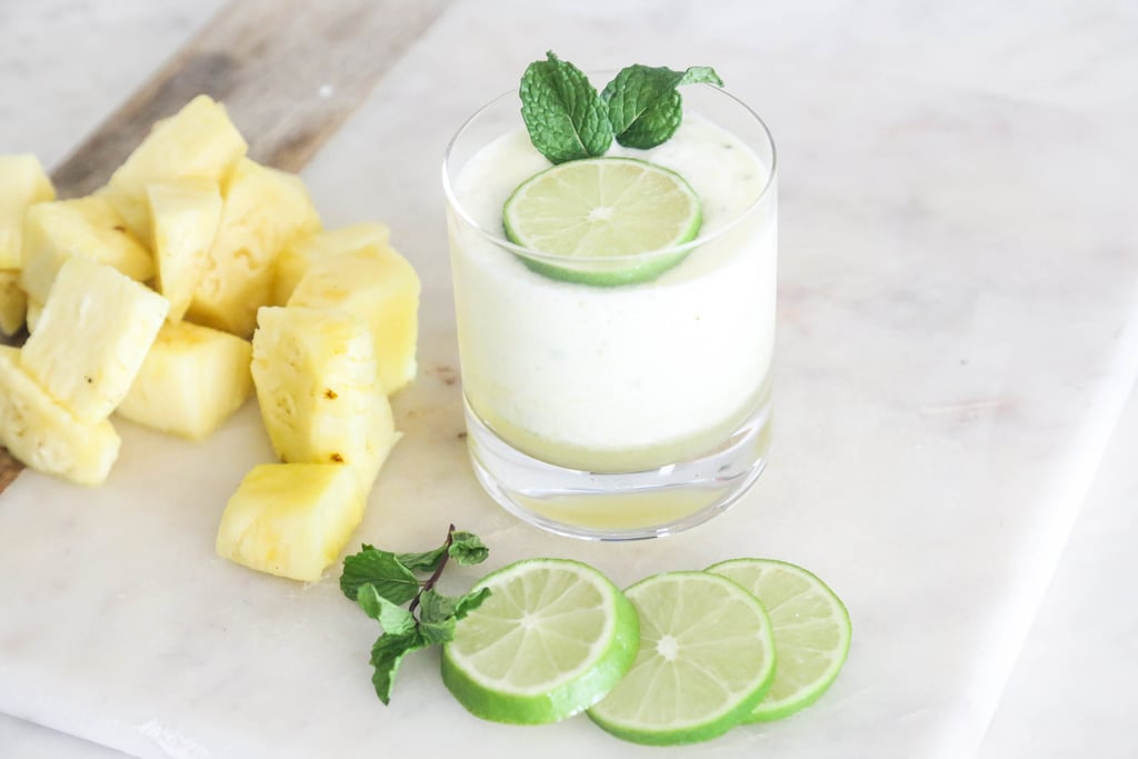 Collagen Pineapple Mint Smoothie Recipe