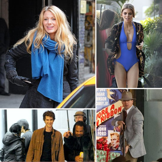Blake Lively, Andrew Garfield, Ryan Gosling, and More Stars on Set This Week!