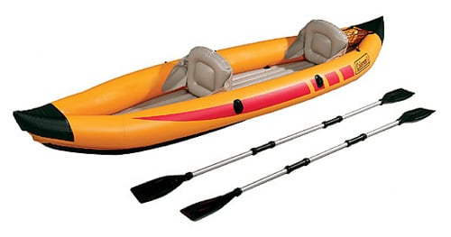 Inflatable Kayak:  Cheap and a Great Workout