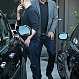 Matt Damon stepped out with Ben Affleck in LA.