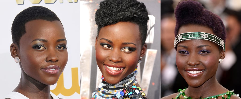 How Many Ways Can Lupita Nyong'o Style Two Inches of Hair?