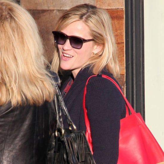 Reese Witherspoon and Jim Toth Having Lunch in LA