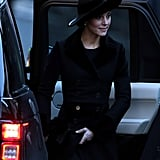 Prince William and Kate Middleton at Memorial November 2016
