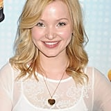 Dove Cameron With a Sideswept Fringe in 2013