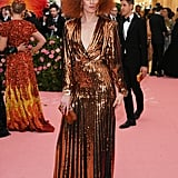 Karen Elson at the 2019 Met Gala