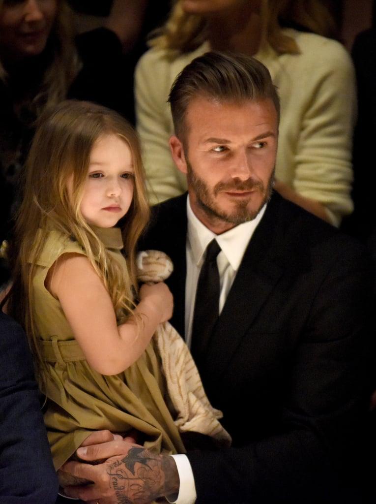 David Beckham Admits He Has a Favorite Child