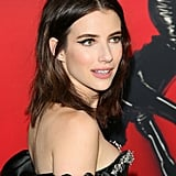Emma Roberts With Dark Brown Hair