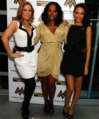 Sugababes, 2008 Mobo Awards, red carpet, Heidi Range, Keisha Buchanan, Amelle Berrabah