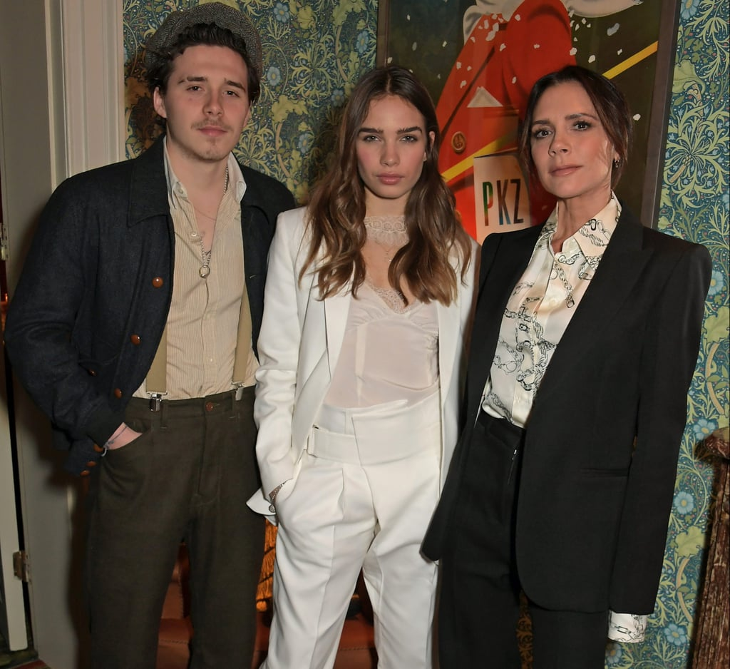 Celebrities at London Fashion Week February 2019