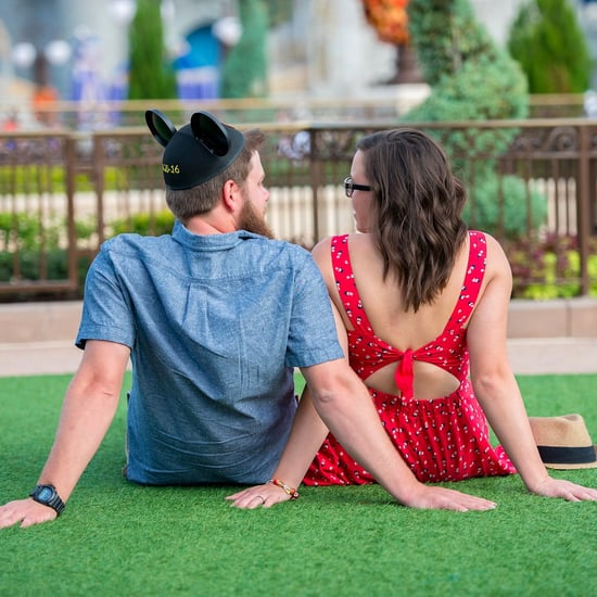 Engagement Shoot at Disney World