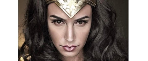 See 1 Man Transform Into Wonder Woman, Britney Spears, and More With Makeup