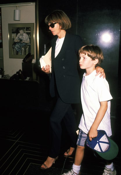 June 1994: Escorting son Charlie Shaffer to The Lion King premiere.