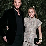 Miley Cyrus and Liam Hemsworth at Chanel Oscar Preparty 2019
