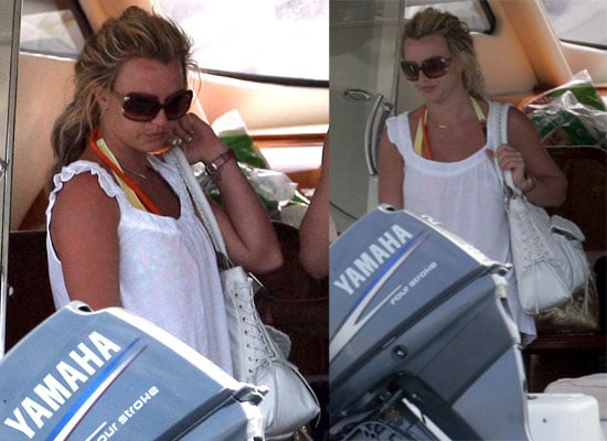 Britney Spears on the Fourth of July