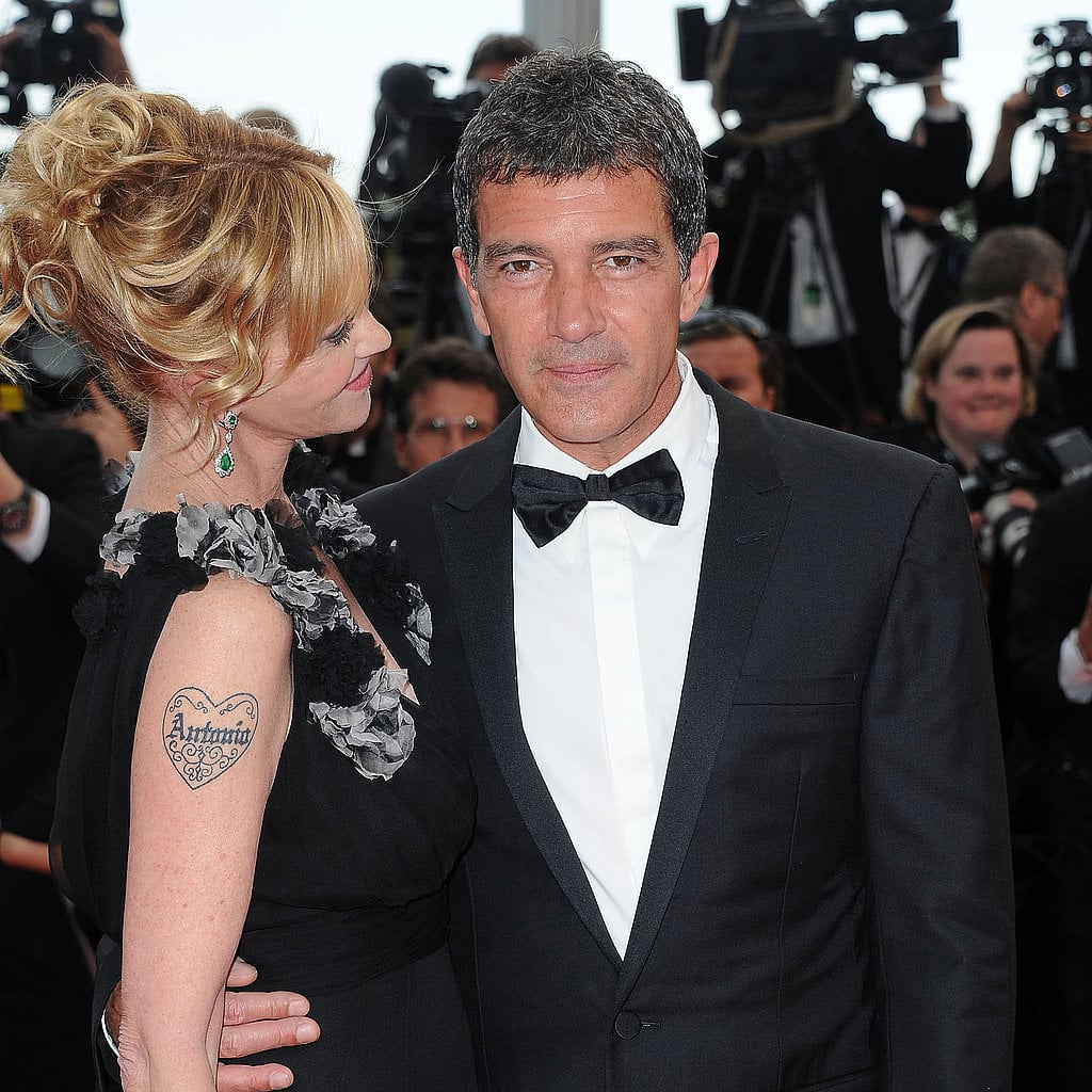 Melanie Griffith and Antonio Banderas in 2011