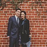 Los Angeles Arts District Engagement Photos