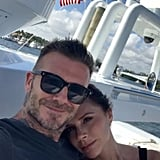 David and Victoria Snapped a Cozy Selfie