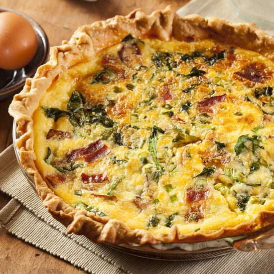 Bacon, Cheddar, and Grits Quiche Recipe