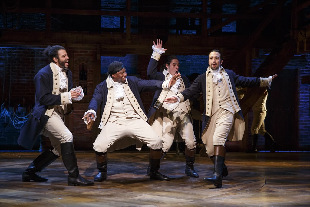 "Broadway fans have been holding out hope that the 11-time Tony Award-, Grammy Award-, Olivier Award-, and Pulitzer Prize-winning stage musical Hamilton would make its way to the big screen since it premiered in February 2015. Well, Disney finally decided it's not throwing away its shot and is bringing a film version of Lin-Manuel Miranda's history-making musical, with the original Broadway cast, to theatres on Oct. 15, 2021! ""Lin-Manuel Miranda created an unforgettable theatre experience and a true cultural phenomenon, and it was for good reason that Hamilton was hailed as an astonishing work of art,"" Robert A. Iger, chairman and chief executive officer of the Walt Disney Company, said in a statement. ""All who saw it with the original cast will never forget that singular experience. And we're thrilled to have the opportunity to share this same Broadway experience with millions of people around the world."" The film is described as ""a leap forward in the art of 'live capture,'"" and combines live theatre and film. Hamilton director Thomas Kail — who will serve as producer alongside Disney and Miranda — filmed the stage show at Broadway's Richard Rodgers Theatre before the original cast members began to depart. So, along with Miranda, fans will see Tony winners Leslie Odom Jr. as Aaron Burr, Renée Elise Goldsberry as Angelica Schuyler, and Daveed Diggs as Marquis de Lafayette/Thomas Jefferson, as well as Tony nominees Phillipa Soo as Eliza Hamilton, Christopher Jackson as George Washington, and Jonathan Groff as King George. Rounding out the principal company are Jasmine Cephas Jones as Peggy Schuyler/Maria Reynolds, Okieriete Onaodowan as Hercules Mulligan/James Madison, and Anthony Ramos (who also stars in the upcoming film adaptation of Miranda's In the Heights) as John Laurens/Philip Hamilton. ""I'm so proud of what Tommy Kail has been able to capture in this filmed version of Hamilton — a live theatrical experience that feels just as immediate in your local movie theatre,"" Miranda said in a statement, along with a Twitter post announcing the film. ""We're excited to partner with Disney to bring the original Broadway company of Hamilton to the largest audience possible.""  We can't wait to be in the screening room where this premiere finally happens!"