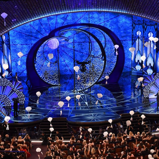 Candy Falling at the Oscars 2017