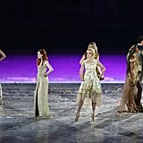 Kate Moss, Georgia Jagger, & Karen Elson Have an Olympic Model Moment