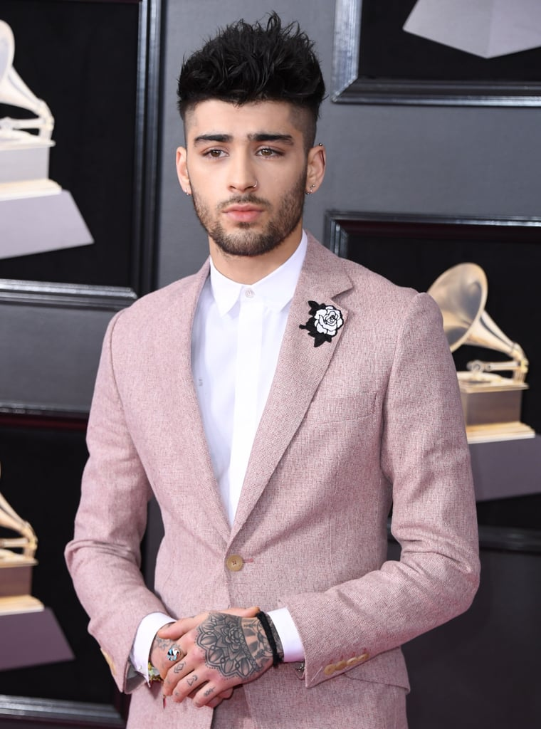 Zayn Malik What Does The White Rose Mean At The Grammys