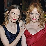 Pictured: Christina Hendricks and Jaime King