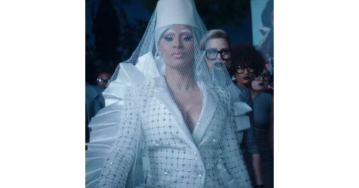 Cardi B Press Music Video Popsugar Entertainment