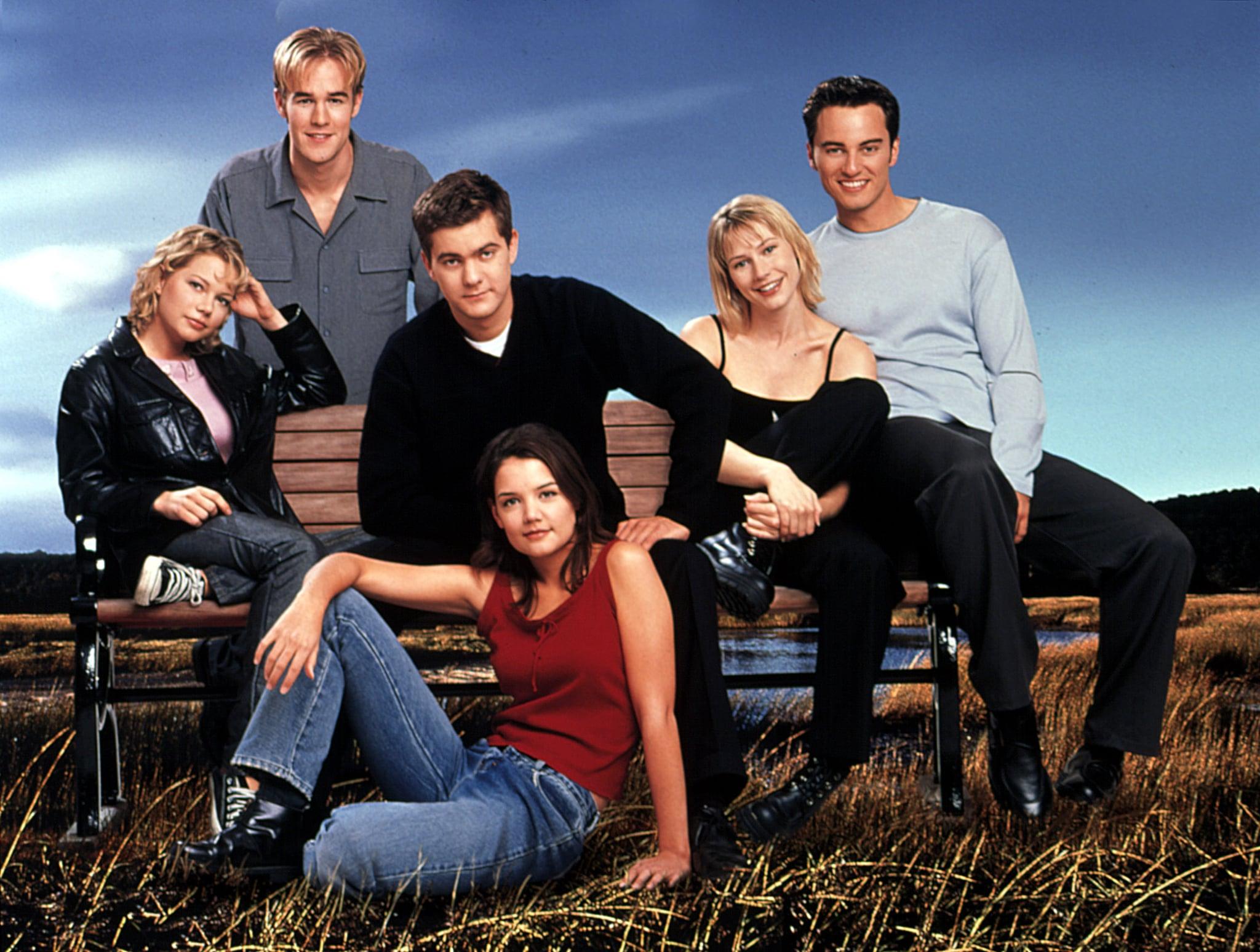DAWSON'S CREEK, 1998-present, Michelle Williams, James Van Der Beek, Joshua Jackson, Meredith Monroe, Kerr Smith, 2000, yr3