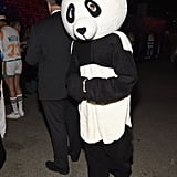 Adrien Brody as a Panda
