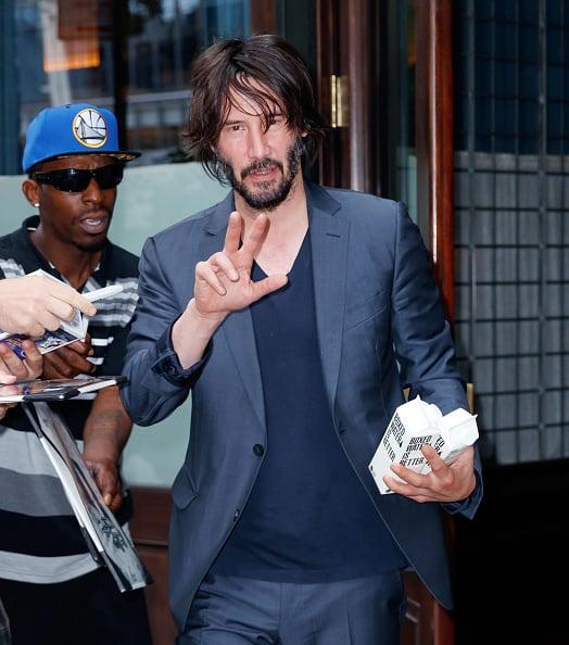 Hot Photos of Keanu Reeves