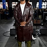 Michael B. Jordan at the Coach 1941 Fall 2020 Show