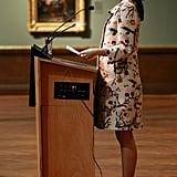 Crown Princess Mary's Brushstroke Coat, 2010