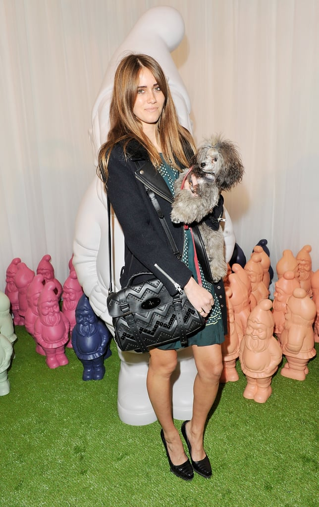 Jade Williams aka Sunday Girl carried another cute accessory besides her bag!
