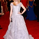 Dakota Fanning was lovely in light lavender.
