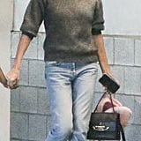 Charlize Theron Wears Alexander McQueen The Story Bag