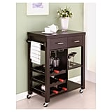 Ann Contemporary Mobile Kitchen Cart