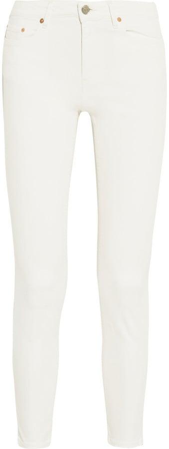 Acne Studios 'Skin 5' Pocket Mid-Rise Skinny Jeans ($240)