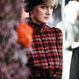 A young Diana attended the Braemar Games in England in September 1981.