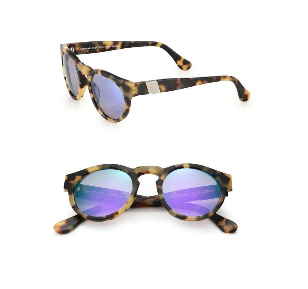 Westward Leaning Voyager 48MM Round Sunglasses ($195)