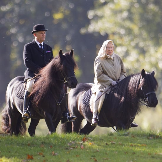 Queen Elizabeth II Riding Horse Picture October 2016