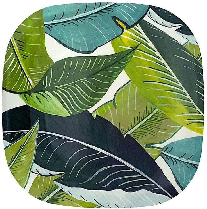 Celebrate Summer Together Palm 11-in. Square Melamine Dinner Plate ($5.99) & Celebrate Summer Together Palm 11-in. | Melamine Plates | POPSUGAR ...