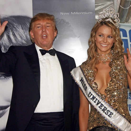 Video of Donald Trump With Jennifer Hawkins in Sydney