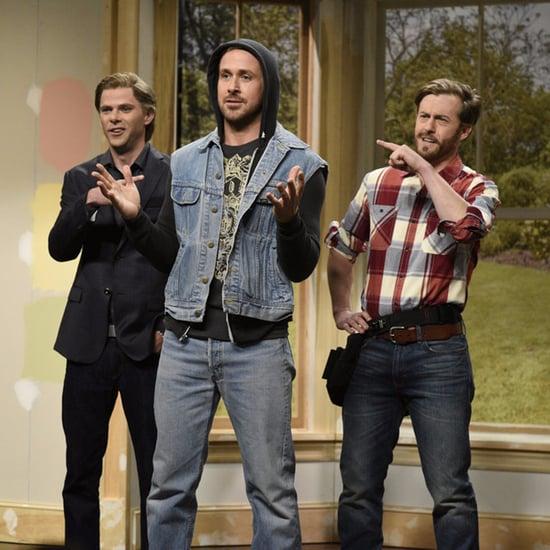 Ryan Gosling Property Brothers SNL Skit